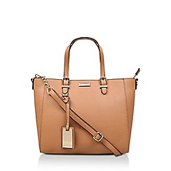 Carvela - Tan 'Dina Winged Tote' Tote Bag