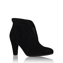 Carvela Comfort - Black 'Rida' high heel ankle boot