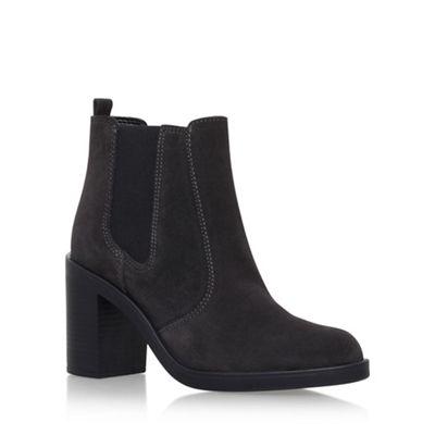 KG Kurt Geiger - Grey 'Sicily' high heel ankle boots
