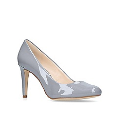 Nine West - Grey 'handjive' mid heel court shoes