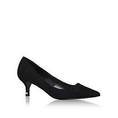 Miss KG - Black 'samantha' mid heel court shoe