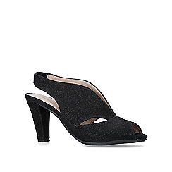 00d2bb671e Comfort fit - black - Peep toe sandals - Shoes & boots - Women ...