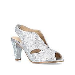 81208025f4d Carvela Comfort - Silver  Arabella  jewelled mid heel sandals