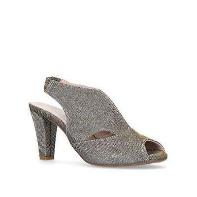 Carvela Comfort 'Arabella' - Metallic 'Arabella' Comfort mid heel sandals a3d93a