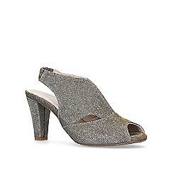 Carvela Comfort - Metallic 'Arabella' mid heel sandals