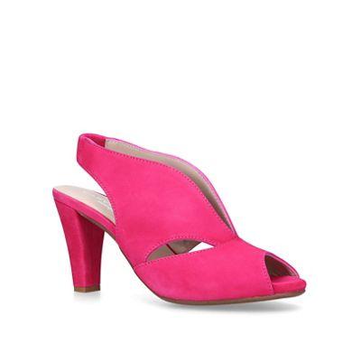 Carvela Comfort - mid Pink 'Arabella' mid - heel sandals d5a961