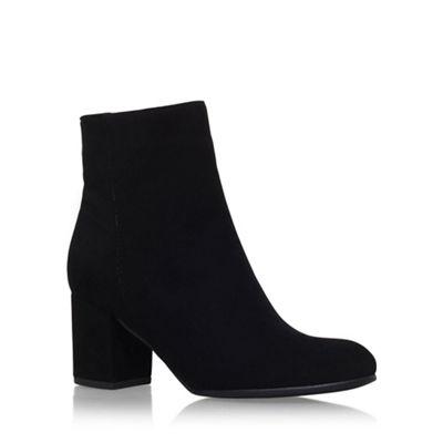 Carvela - Black 'Subtle' mid heel ankle boot