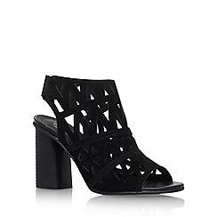 Carvela - Black 'Kupid' high heel sandals