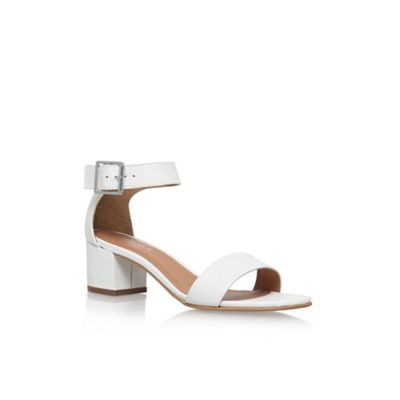Carvela   White 'shadow' High Heel Sandals by Carvela