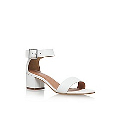 Carvela - White 'Shadow' high heel sandals