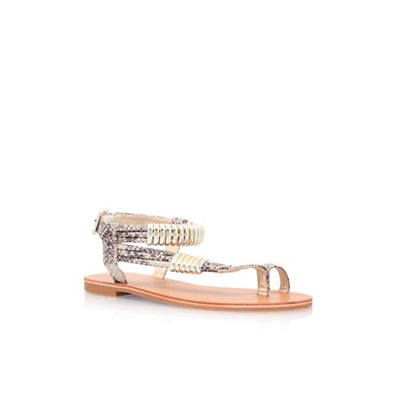 Carvela - Brown 'Klipper' flat sandals
