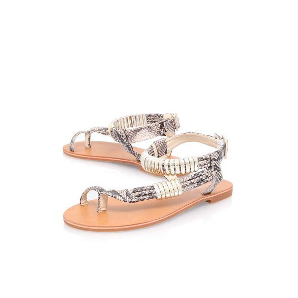 Carvela 'Klipper' 'Klipper' 'Klipper' Carvela Brown flat sandals flat sandals flat Brown Carvela Brown AxB8xZ