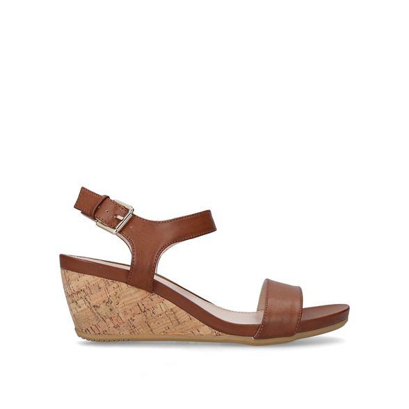 wedge sandals mid 'Sparkle' Carvela Tan heel IqOw1FzWnw