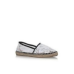 KG Kurt Geiger - White mitzy flat slip on sneakers