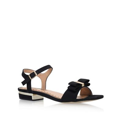 Miss KG - Black 'Ruby' flat sandal