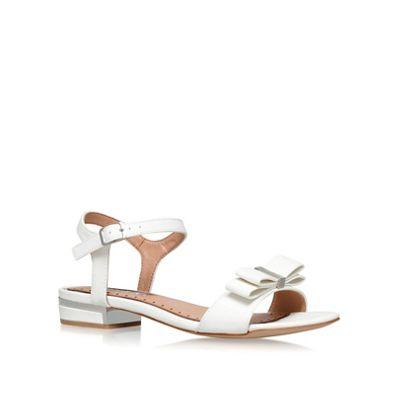 Miss KG - White 'Ruby' flat sandals