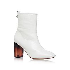 KG Kurt Geiger - White 'strut' high heel boot