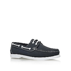 KG Kurt Geiger - Blue 'Felton' low heel lace up shoes