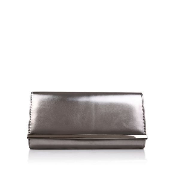 Carvela Carvela Metallic 'Dylan' Metallic clutch bag x8Twq4RwY