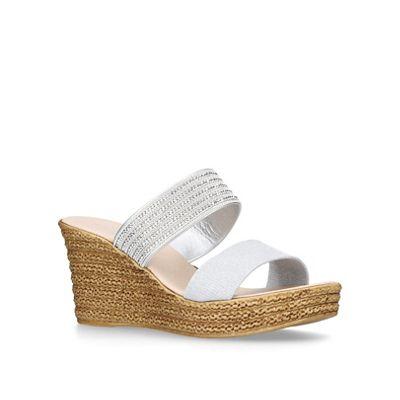 Carvela Comfort - Grey 'Sybil' heeled sandals
