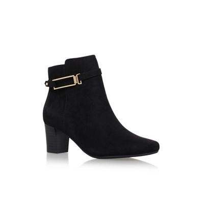 Solea - Black 'Tilly' high heel ankle boots