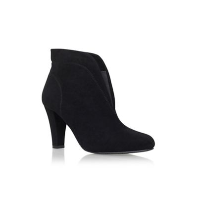 Solea - Black 'Tegan' high heel ankle boots