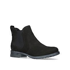 Carvela - Black 'Solid' low heel ankle boots