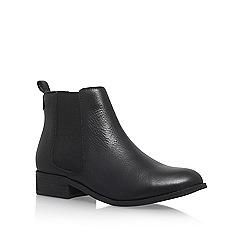 Carvela - Black 'Strom' Flat Ankle Boots