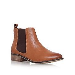 Carvela - Brown 'Storm' Flat Chelsea boots