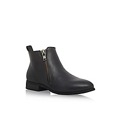 Miss KG - Black 'Joel' flat ankle boots