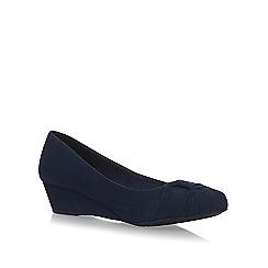 Miss KG - Blue Carole high heel court shoes