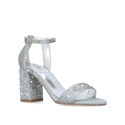 Carvela - Grey 'Gigi' mid heel sandals