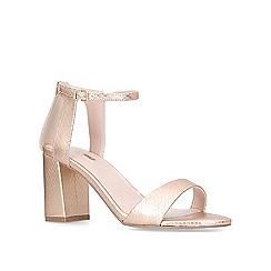 Carvela - Gold 'Gigi' mid heel sandals