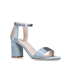 Carvela - Blue 'Gigi' mid heel sandals