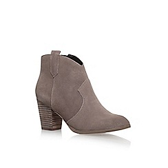 Miss KG - Brown 'Sade' Hight Heel Ankle Boots