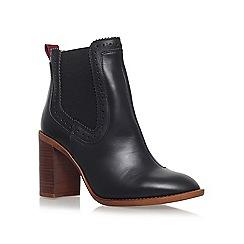 KG Kurt Geiger - Black 'Safari' high heel ankle boots