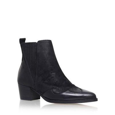 KG Kurt Geiger - Black 'Saint' High Heel Ankle Boot