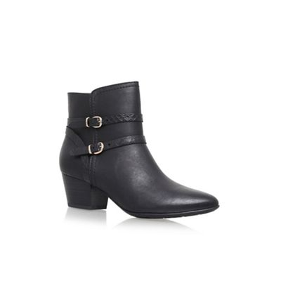 Solea - Black 'Trick' ankle high heel ankle 'Trick' boots f2d062