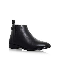 Carvela Comfort - Black 'Rex' flat ankle boot