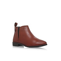 Carvela Comfort - Brown 'Rex' flat ankle boot