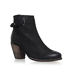 Carvela - Black 'Smart' High Heel Ankle Boots