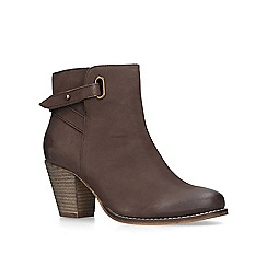 Carvela - Brown 'Smart' leather ankle boots