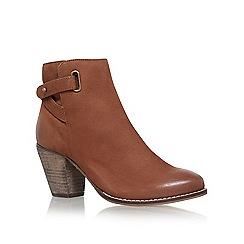 Carvela - Brown 'Smart' mid heel ankle boots