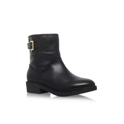 Carvela Comfort - Black 'Rest' low heel ankle boot