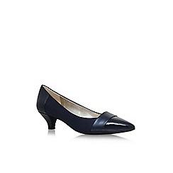 Anne Klein - Blue 'Mckinley' low heel court shoes