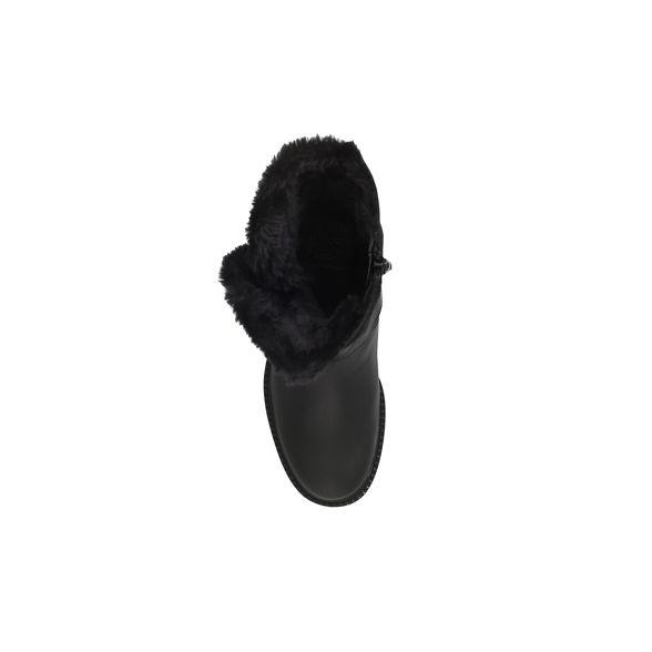 flat calf 'Soldier' Geiger KG Black boot Kurt TUvnU6Xg