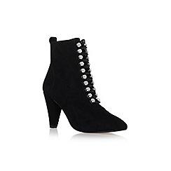 KG Kurt Geiger - Black 'Rapido' high heel ankle boots
