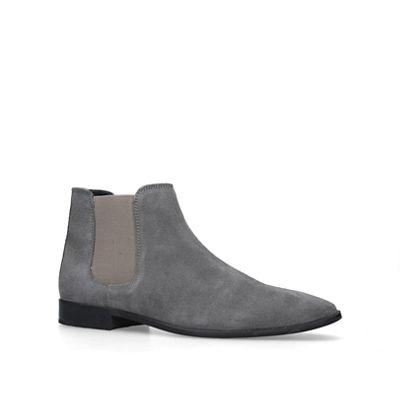 Kg Kurt Geiger   Grey 'harrogate' Ankle Boots by Kg Kurt Geiger