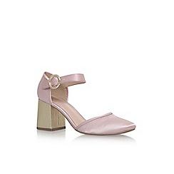 KG Kurt Geiger - Pink 'Poppy' high heel sandals