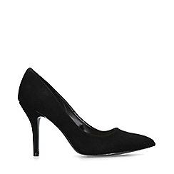 Nine West - Black 'Flagship' mid heel court shoes